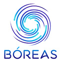 BOREAS logo in english